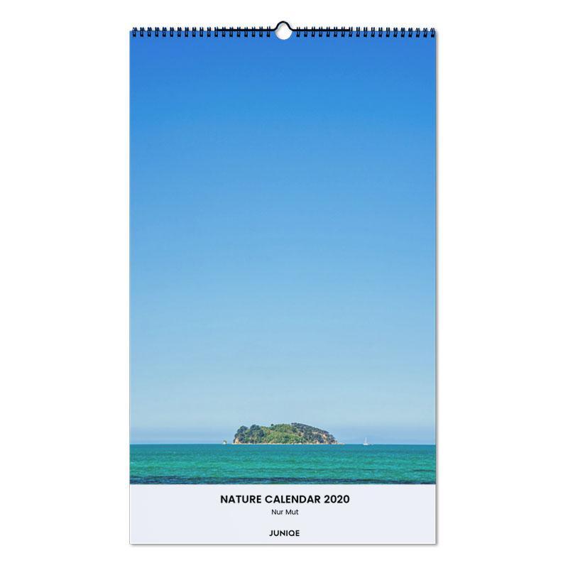 Nature Calendar 2020 - Nur Mut Wall Calendar