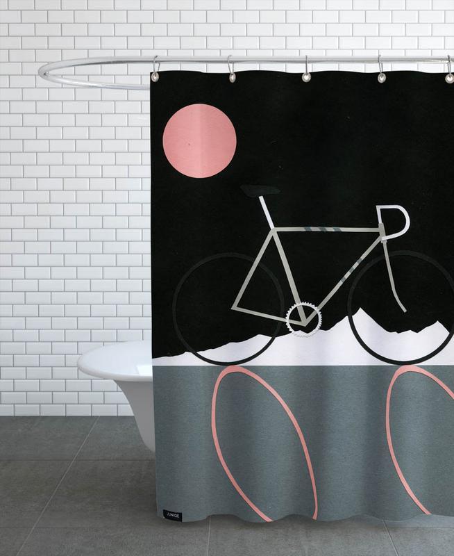 Tour de Noir Shower Curtain