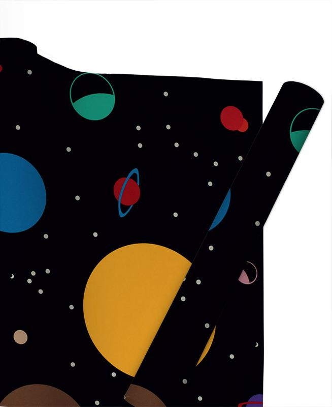 Outer Space Gift Wrap