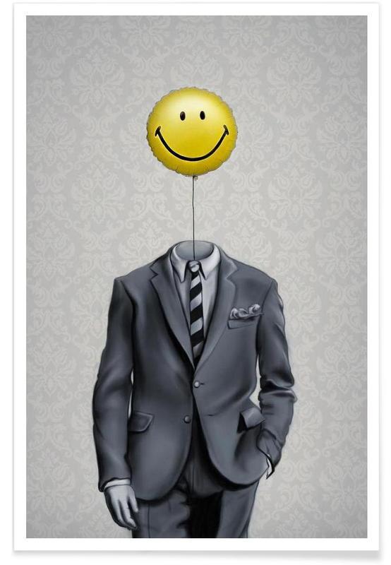 Mr Smiley affiche