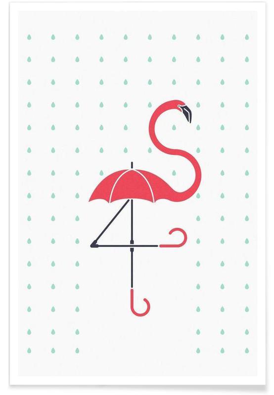 The Pink Umbrella -Poster