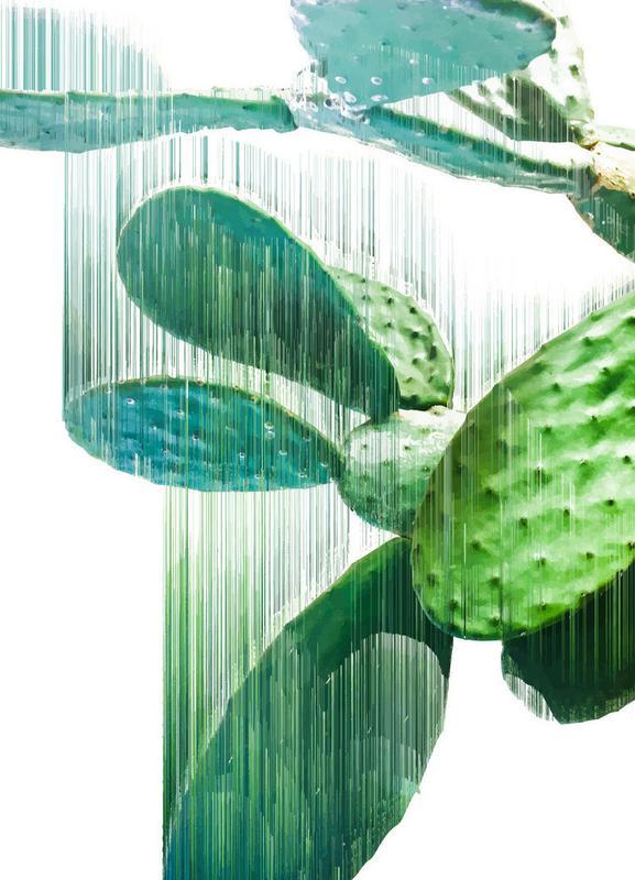 The Speed Of Cactus -Leinwandbild