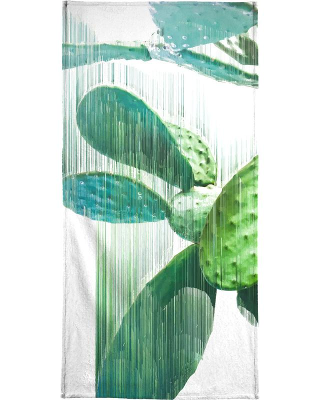 The Speed Of Cactus Bath Towel