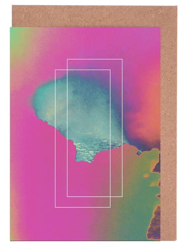 Flow 1983 Grußkartenset   Dekoration > Accessoires   Mehrfarbig
