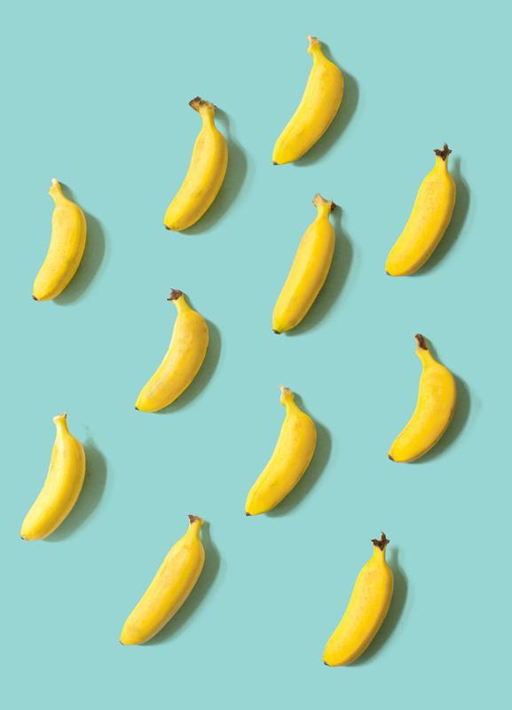 Banane Leinwandbild