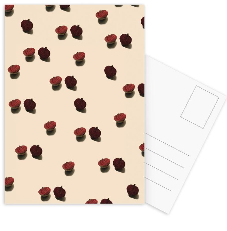 Red Beetroots Postcard Set