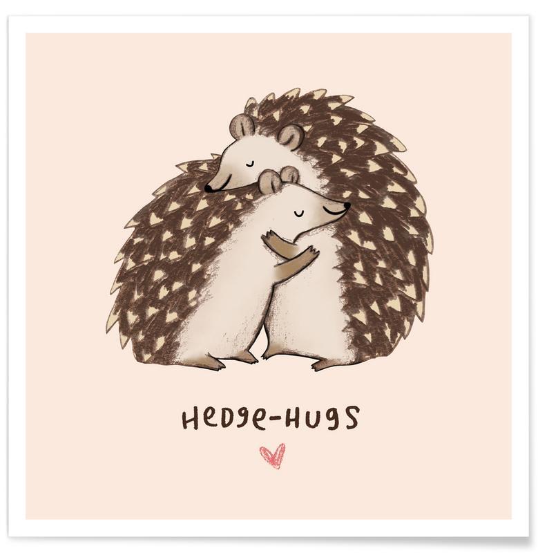 Hedgehugs Poster