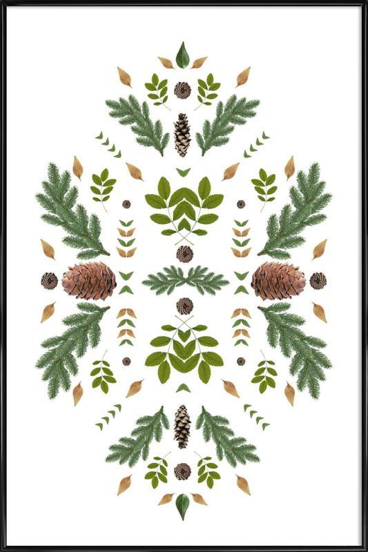 Winterland 04 Gerahmtes Poster | Dekoration > Bilder und Rahmen > Poster | Mehrfarbig