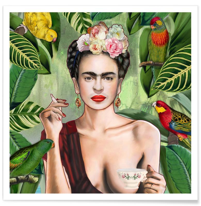 Frida Con Amigos affiche