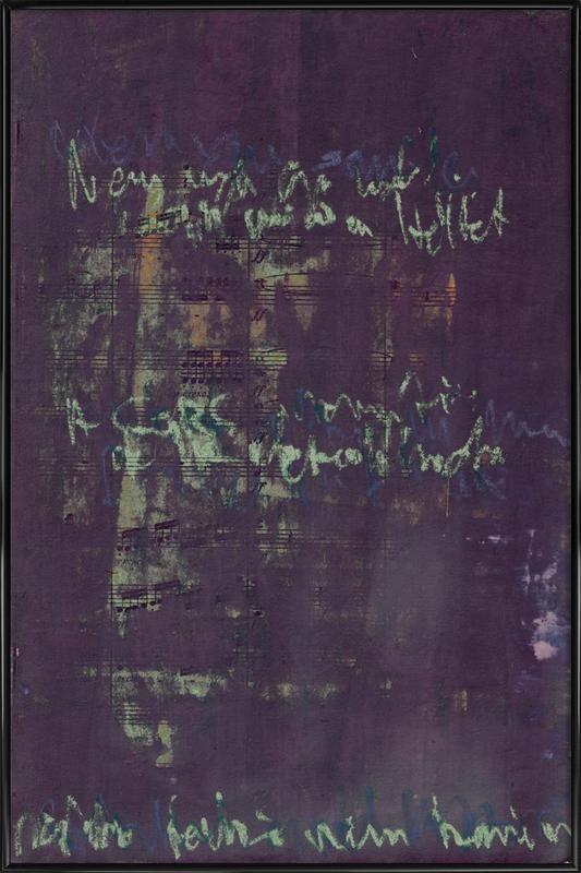 Transcriptions 02 Framed Poster