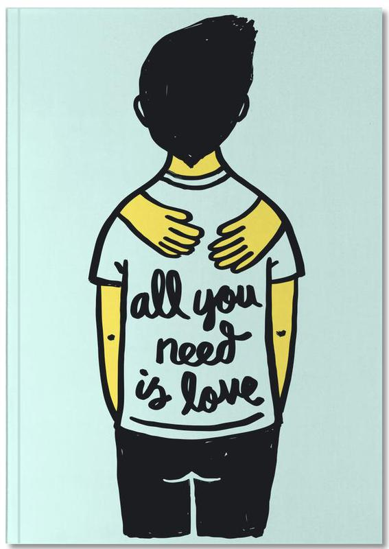All You Need Is Love (Colour) Notebook