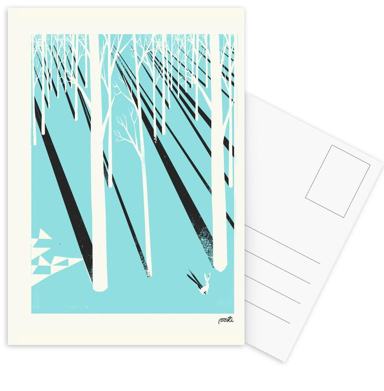 Forest 1 Postcard Set