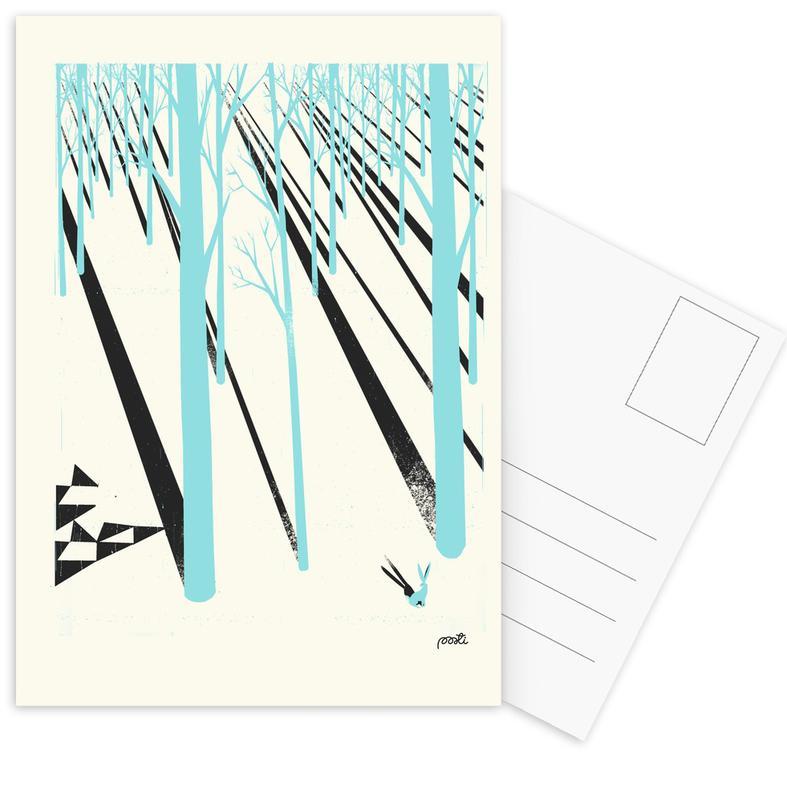 Forest 1b Postcard Set