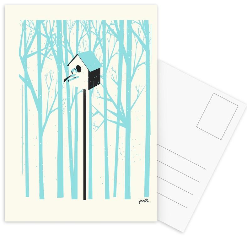Forest 2 Postcard Set