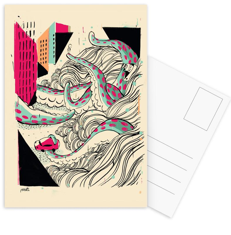 Giants Pulpo Postcard Set
