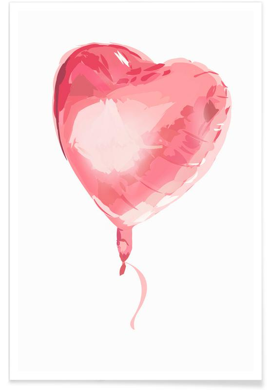 Heart Balloon Poster