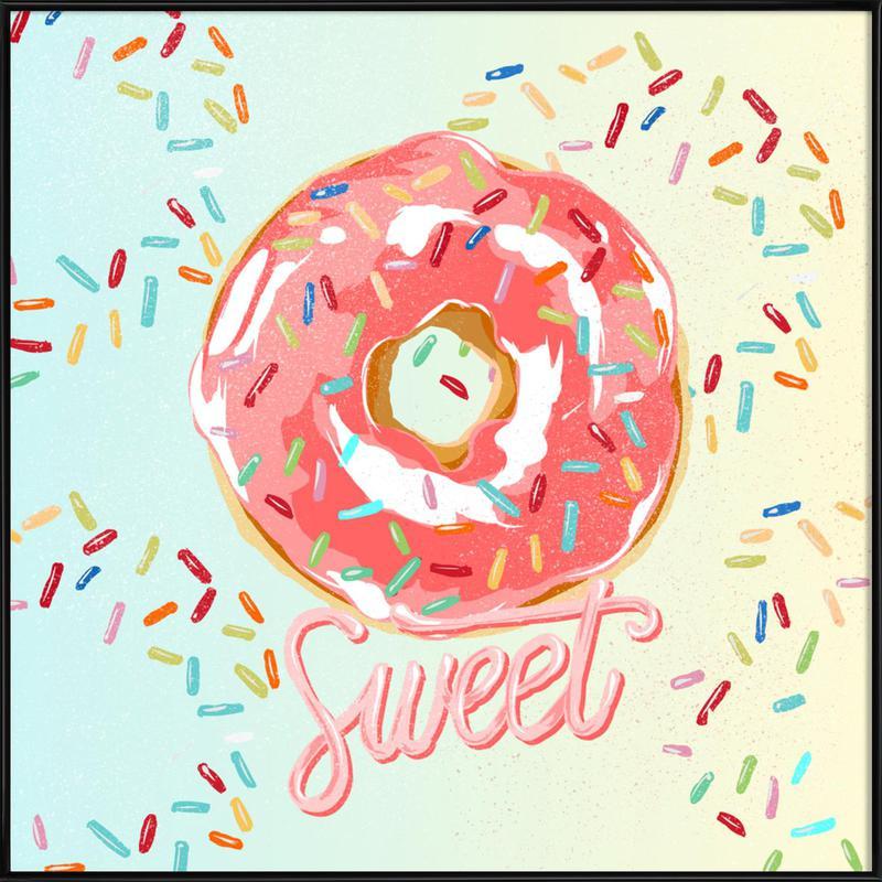 Doughnut Gerahmtes Poster | Dekoration > Bilder und Rahmen > Poster | Mehrfarbig