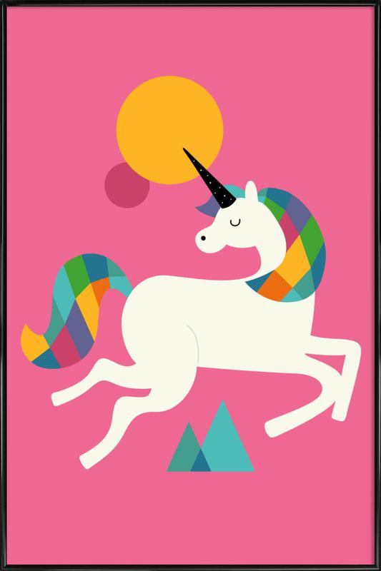 To Be A Unicorn Framed Poster