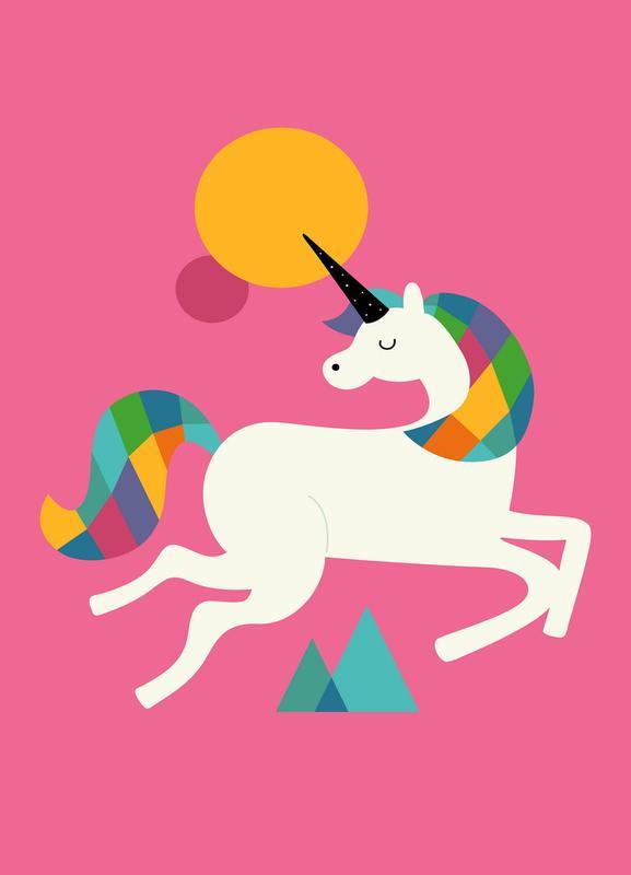 To Be A Unicorn Canvas Print
