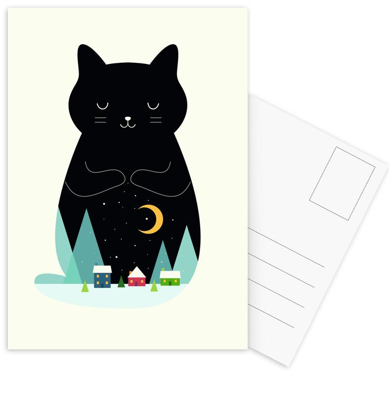 Silent Night Postcard Set