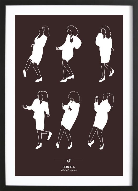 Seinfeld - Elaine's Dance Framed Print