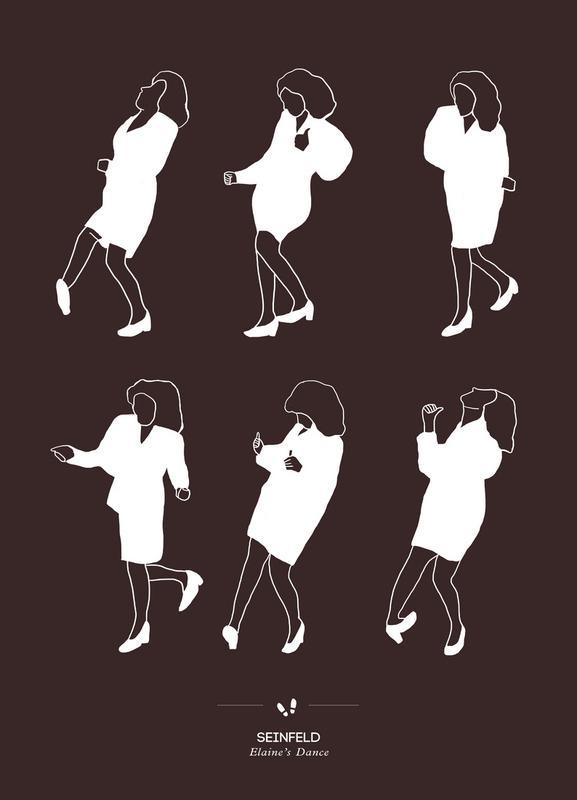 Seinfeld - Elaine's Dance Canvas Print