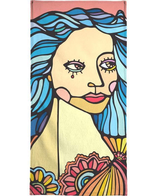 B-Girl Beach Towel