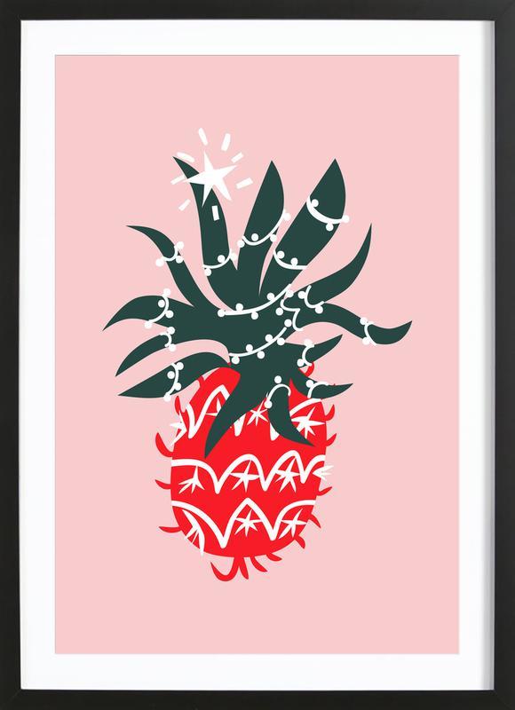 Christmas Pineapple 2 Framed Print