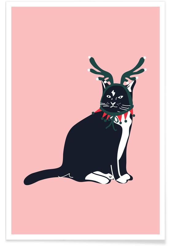 Santas Little Helper -Poster