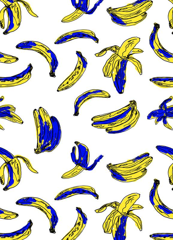 Bananas canvas doek