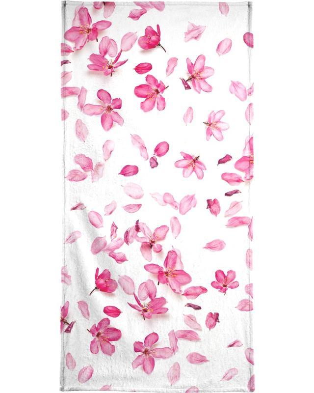 Blossom Fall Strandtuch | Bad > Handtücher > Saunatücher | Mehrfarbig