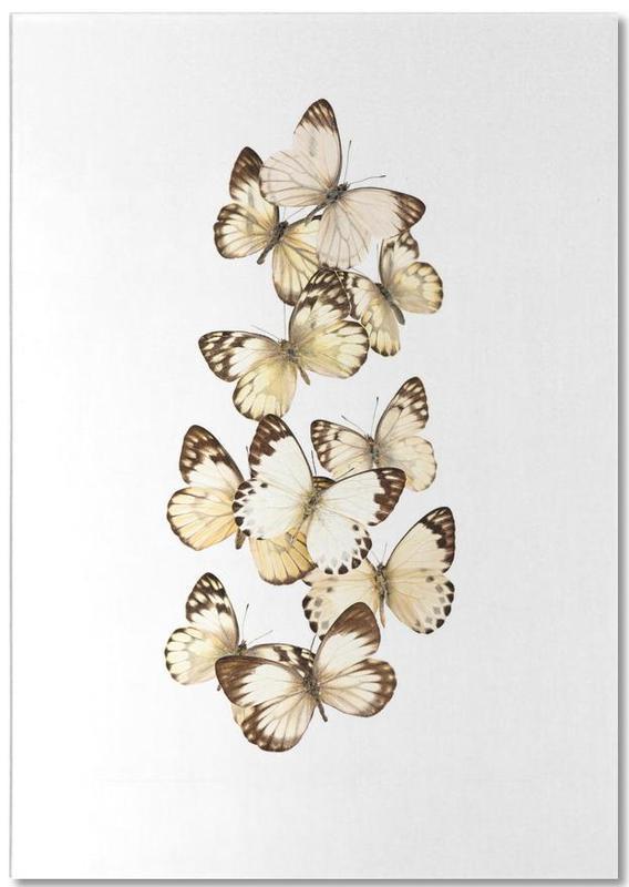 Butterfly 1 -Notizblock