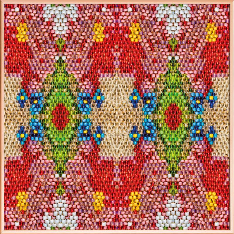 Pearl Pattern Poster im Alurahmen | Dekoration > Bilder und Rahmen > Poster | Mehrfarbig