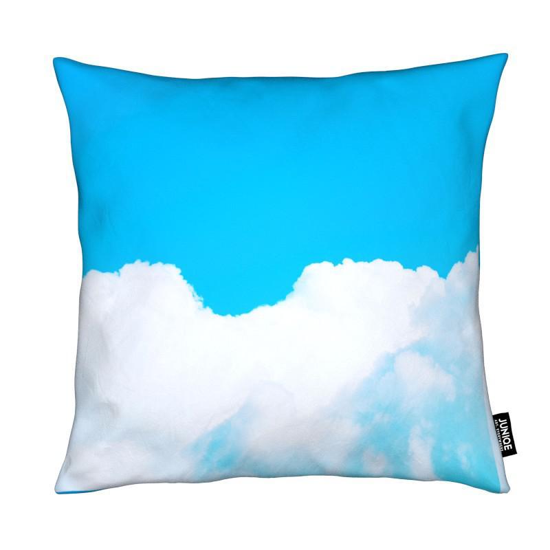 Blue Clouds I Kissenhülle | Heimtextilien > Bettwäsche und Laken > Kopfkissenbezüge | Mehrfarbig
