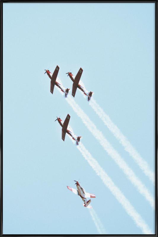 Vintage IAF II, 2018 Gerahmtes Poster | Dekoration > Bilder und Rahmen > Poster