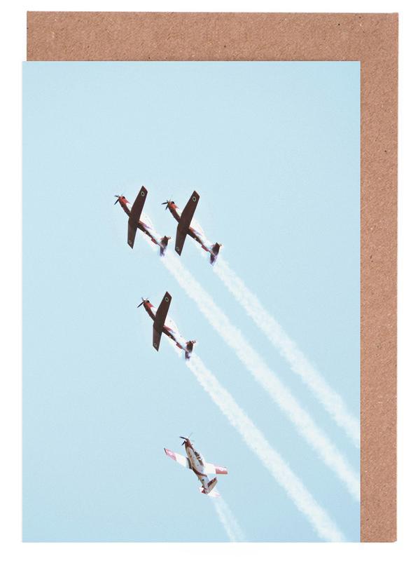 Vintage IAF II, 2018 -Grußkarten-Set