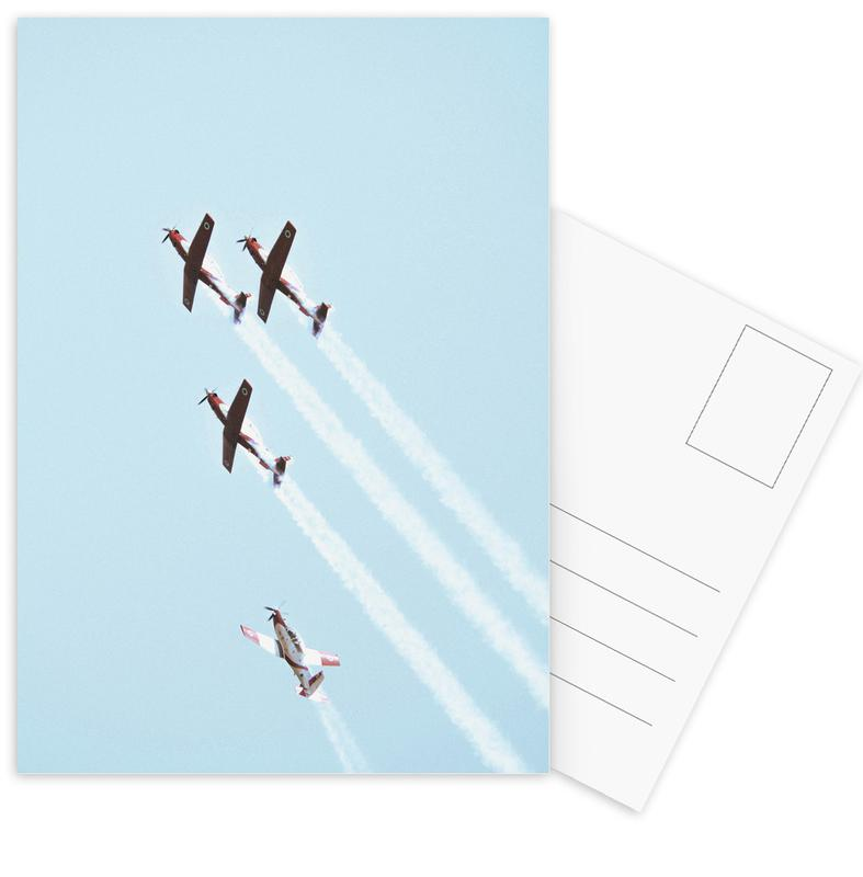 Vintage IAF II, 2018 Postcard Set