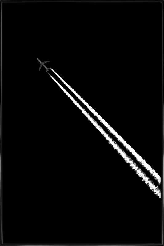 Black and White -Bild mit Kunststoffrahmen