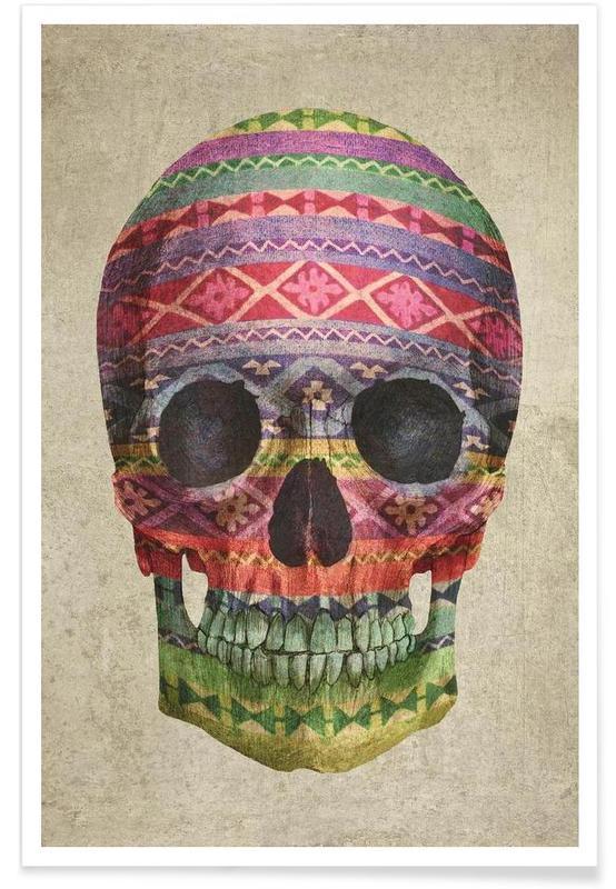 Navajo Skull affiche