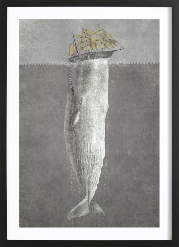 Revenge of the Whale Framed Print