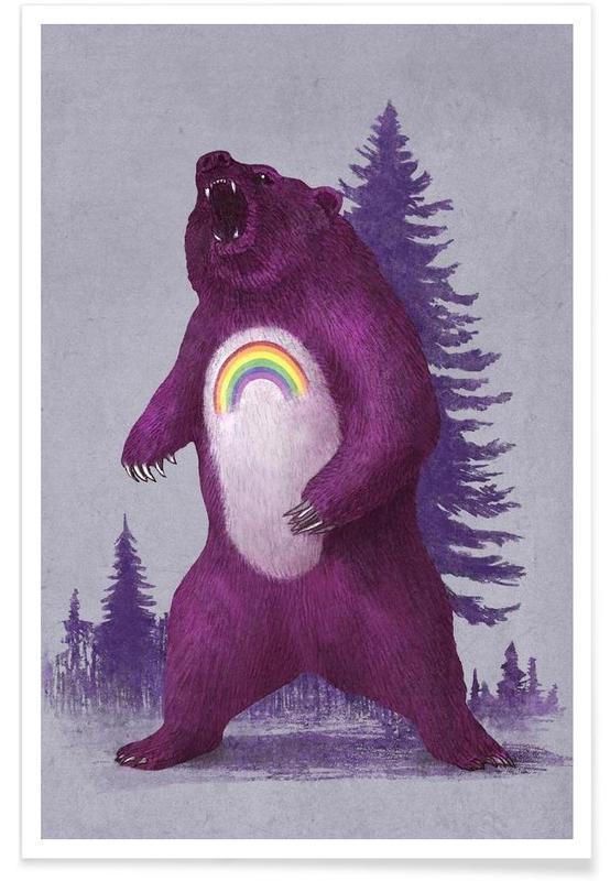 Scare Bear affiche