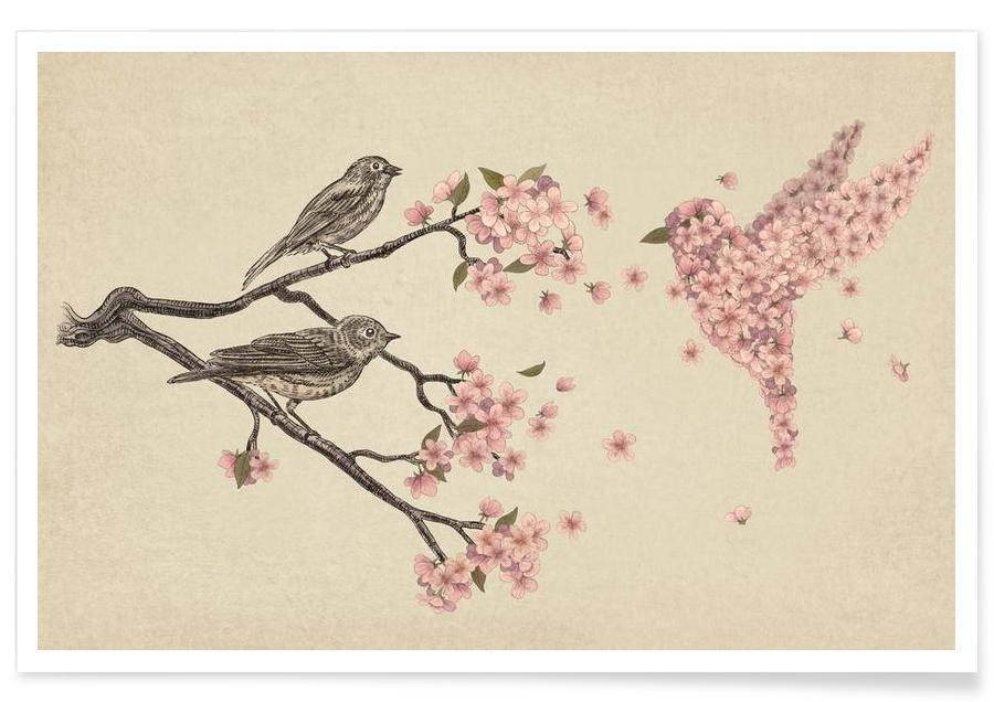 Blossom Bird -Poster