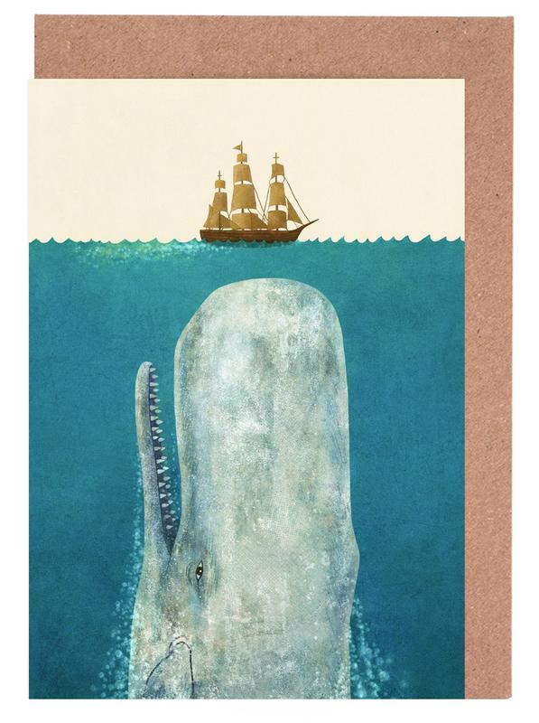 The Whale Greeting Card Set