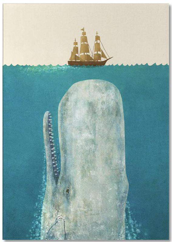 The Whale Notepad