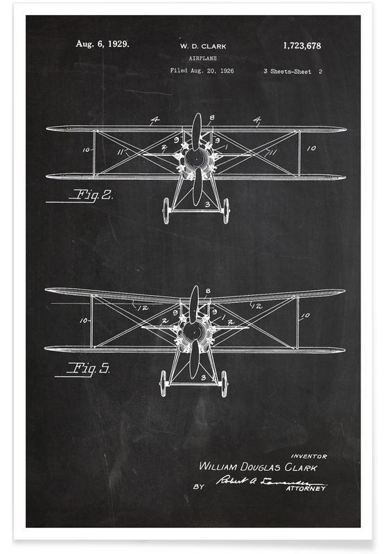 Airplane Premium Poster
