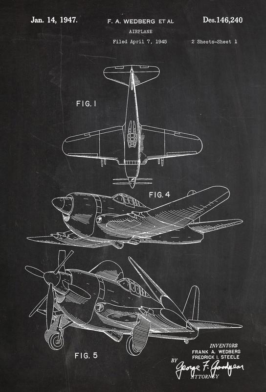 Airplane II Alu Dibond Druck