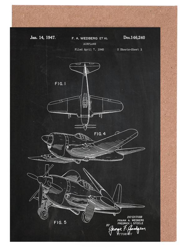 Airplane II Grußkartenset