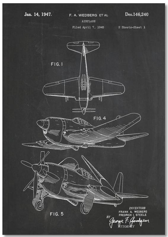 Airplane II Premium Notizbuch