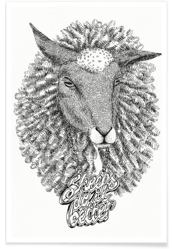 Sheeps Do It Better Poster
