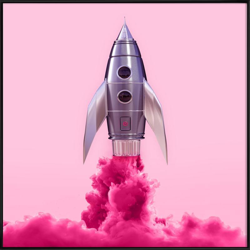 Rocket Framed Poster